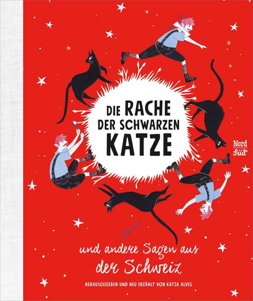 Die Rache der schwarzen Katze und andere Sagen aus ser Schweiz, Umschlag